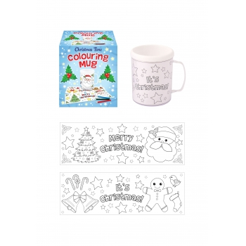 Christmas Colouring Mug