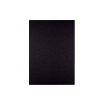 A4 Black 200 gsm Coloured Card - Pack of 10 Sheets
