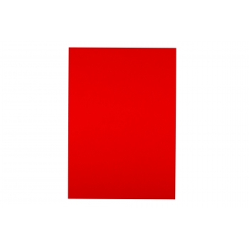 A4 Red 200gsm Coloured Card - Pack of 10 Sheets