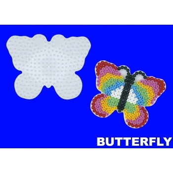 Large Hama Pegboards - Butterfly