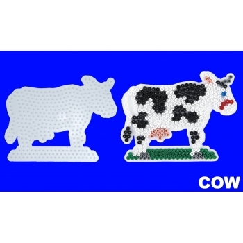 Large Hama Pegboards - Cow
