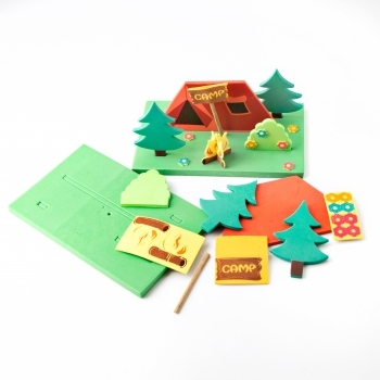 Foam Camp Fire Kits - Pack Of 12
