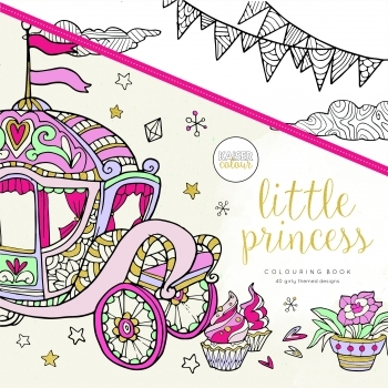KaiserColour 'Little Princess' Adult Colouring Book