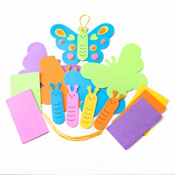 DIY Foam Butterfly Ornament Kit - Individual