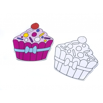 Sand Art Cupcake - BULK PACKED