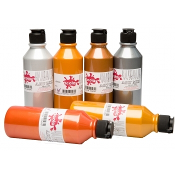 Metallic Acrylic Paint Pack - 300ml