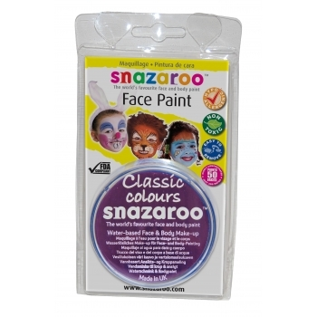 Snazaroo Face and Body Paints - Purple - 18ml