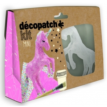 Decopatch Unicorn Mini Kit - KIT009