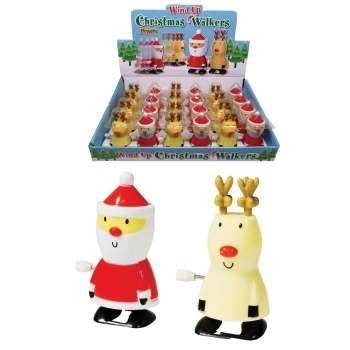Christmas Walkers | Wind-Up Christmas Toys