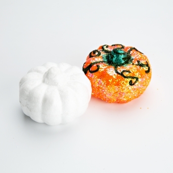 Polystyrene Pumpkin 8.5cm - Pack of 10