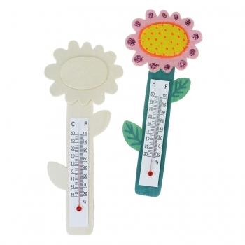Flower Thermometer