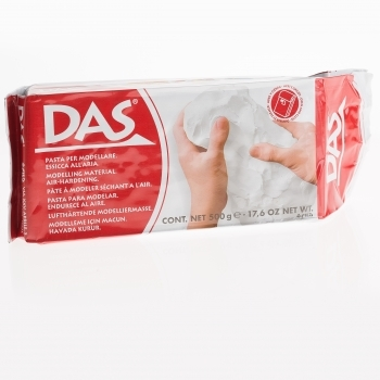 DAS Air Hardening Clay - White 500g