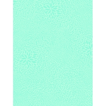Decopatch Paper 701 - Half Sheet - Light Blue Burst