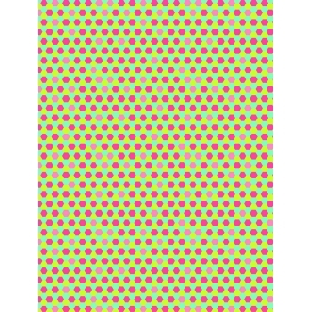 Decopatch Paper 713 - Half Sheet - Honeycomb Brights