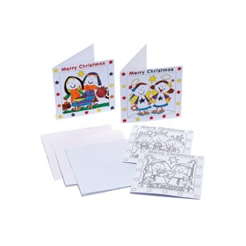 Nativity Cards (pack Of 4)
