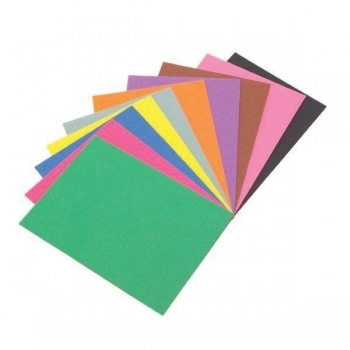 A4 Assorted Colours Sugar Paper 100gsm - 250 Sheets