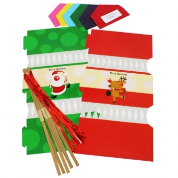 Large Christmas Cracker Kit - 6 Pack