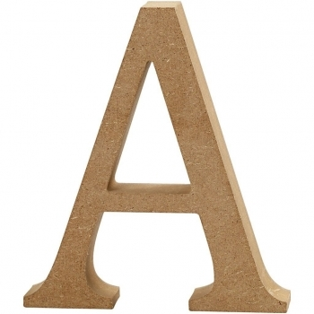 MDF Letter A - 13cm