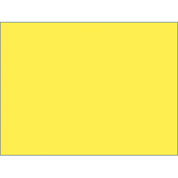 Canary Yellow A4 160gsm Card 50 PACK
