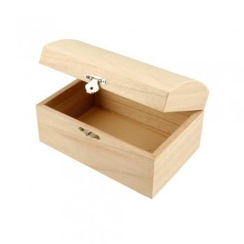 Medium Wooden Treasure Chest