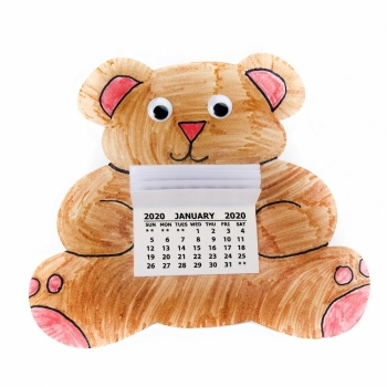 2020 Teddy Bear Calendar Kits - Singles