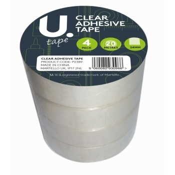 Clear Adhesive Tape 24mm X 20metres