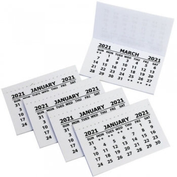 2021 Calendar Tabs Pack Of 10