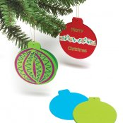 Christmas Bauble Cards - 3 Pack