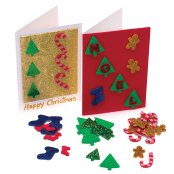 Glitter Christmas Sticker Pack