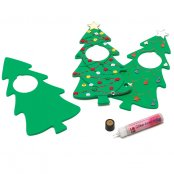 Christmas Tree Door Hanger for decorating