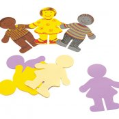 EVA Foam Boy Figures - 10 Pack
