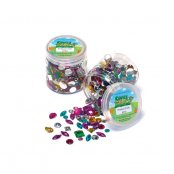 Small Acrylic Jewels - 500 Pack