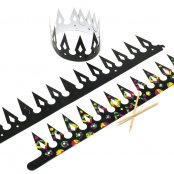Scratch Art Crowns - 6 Pack