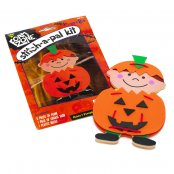 Foam Halloween Pumpkin Pal Kit - 1 Kit - 17cm