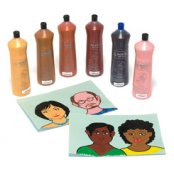 Skin Tone Washable Paints 600ml - Set of 6