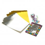 Gold & Silver Foil Card Pack