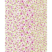 Decopatch Paper 571 - Full Sheet -Pink, Lime Green Small Flowers