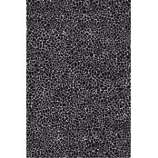 Decopatch Paper 564 - Half Sheet - Black & Silver Mottled