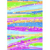 Decopatch Paper 506 -Half Sheet - Bright Colours Mosaic