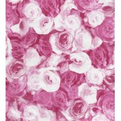Decopatch Paper 573 - Half Sheet - Pink Roses
