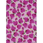 Decopatch Paper 455 - Half Sheet - Cerise Roses