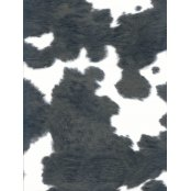 Decopatch Paper 369 - Half Sheet- Black & White Animal Print