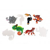 Jungle Animal Cut-outs