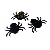 Scratch Art Spiders