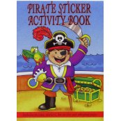 Mini Pirate Sticker/Activity Book