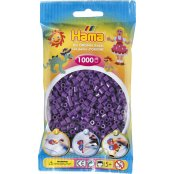 Hama Beads Solid Colours 1000 Pack - 07 Purple