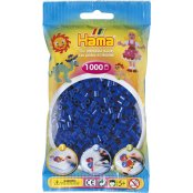 Hama Beads Solid Colours 1000 Pack - 08 Blue