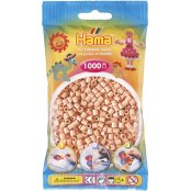 Hama Beads Solid Colours 1000 Pack - 26 Flesh