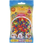 Hama Beads 1000 Pack - 51 Neon Mix