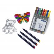 Staedtler Noris Staedtler Suncatcher Pen - Purple